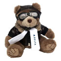 "BROWN 8"" AVIATOR BEAR"